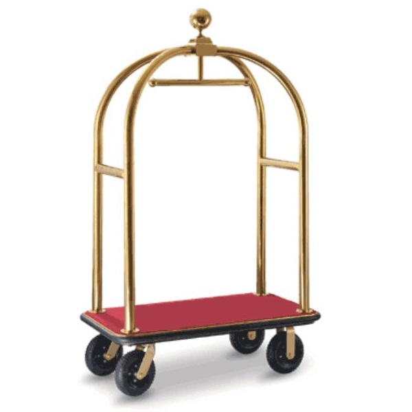 Birdcage-Luggage-Trolley-Gold Red