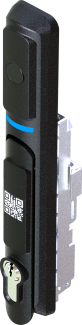 mechanical key + remote control+ fingerprint + bluetooth