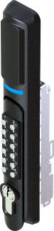 mechanical key + remote control + keypad password